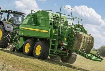 John Deere: New mowing and baling solutions for 2016