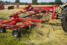 Kuhn Farm Machinery: Twin-rotor Gyrorake available in fully mounted format