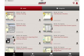 Case IH: AFS Academy app now available