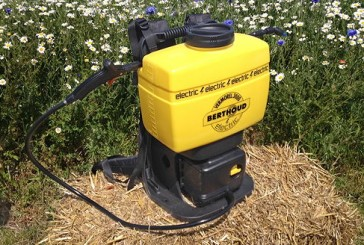 Berthoud: Battery-powered pro sprayer is lighter and quicker to recharge
