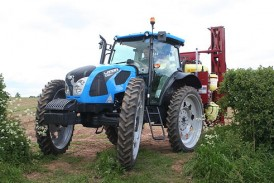 Landini: Growers get a lift from the latest high-clearance tractor