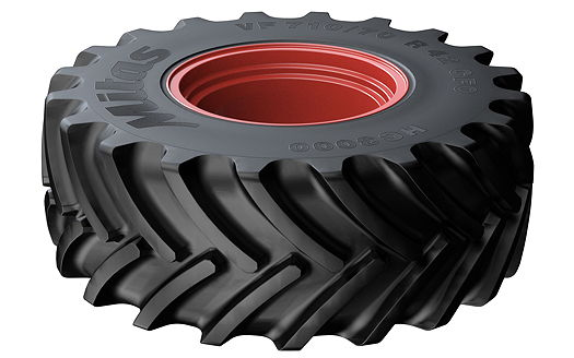 Mitas: New VF HC3000 tyres for harvesters