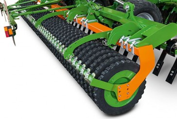 Amazone: New following roller with Matrix tyre profile