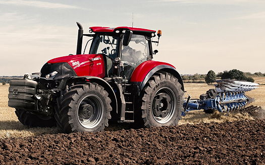 Case Tractors 300 Series : Case ih new optum cvx is a powerful and compact package