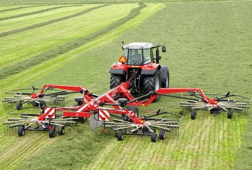 Massey Ferguson: RK Series Rakes for fast and efficient swath making