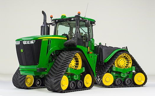 Tractor Front Track : John deere new four track rx series tractors unveiled