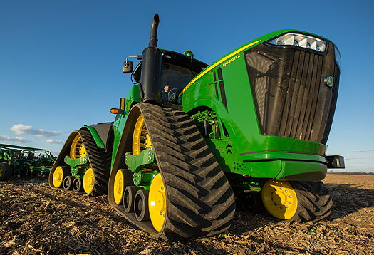 John Deere New Four Track 9rx Series Tractors Unveiled