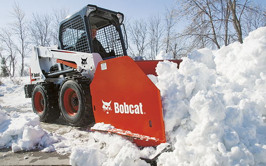 Bobcat: Expanded range of snow-clearing tools