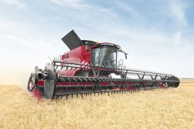 Case IH: Customer feedback helps shape 240 series combines for 2015