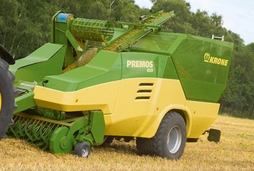 Krone: DLG Gold Medal for world's first mobile pellet harvester