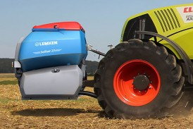 Lemken: Front tank expands cultivation technology
