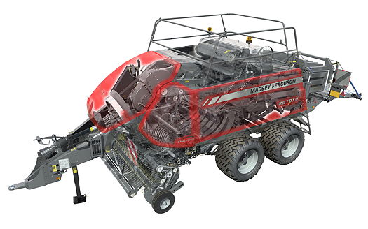 Massey Ferguson: Large square baler ProCut system is a cut above the rest