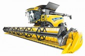 New Holland: CR combines gain in power and efficiency