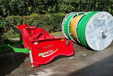 SlurryKat: New range of easy-attach umbilical hose reels