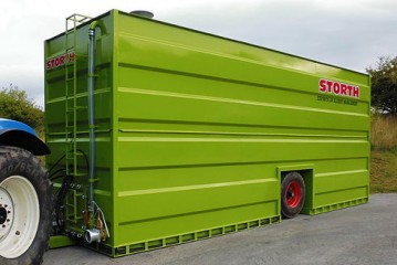 Storth: New mobile nurse tanks designed to support continuous umbilical spreading