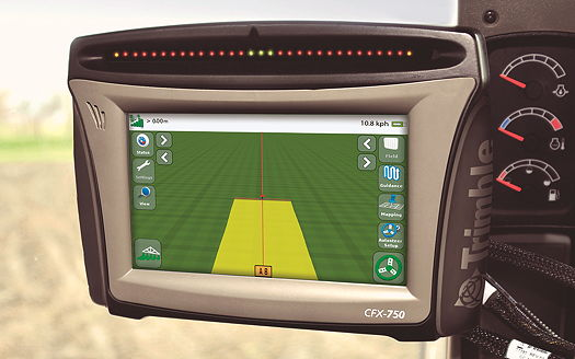 Trimble Agriculture New Displays Add Increased Precision