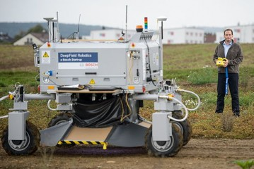 Deepfield Robotics: Agricultural robot makes farming cleaner and more efficient