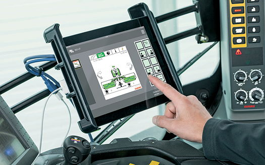 Claas: Implement control now possible via iPad