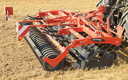 Kuhn: Lamma launch for Optimer+ folding disc cultivator