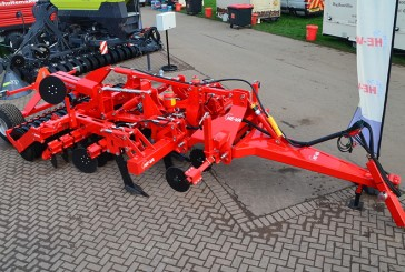 He-Va: Trailed Combi-Disc offers Low hp, single-pass cultivation