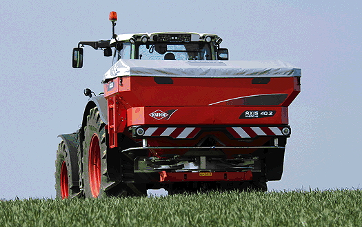 Kuhn: New-generation Axis fertiliser spreaders