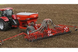 Kuhn: New trailed seed hopper gives increased sowing capacity