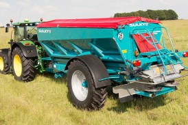 Sulky: XT Econov fertiliser spreaders features boom section shut-off