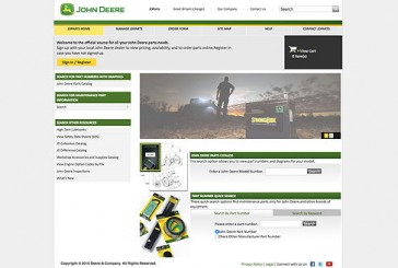 John Deere: New parts catalogue published