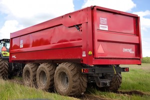 Metsjö: MetaQ trailer cuts tractor fuel consumption