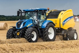 New Holland: T6 all-purpose tractors introduce new styling and deliver ultimate power