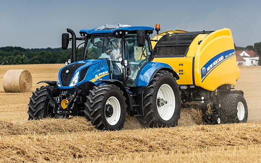 New Holland T6 All Purpose Tractors Introduce New Styling