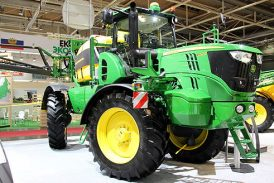 John Deere: New self-propelled sprayer to be previewed at Cereals 2016