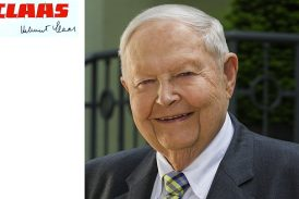 Helmut Claas celebrates 90th birthday