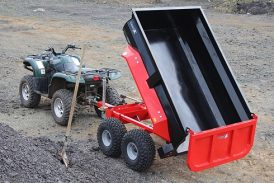 Quad-X: Commercial-spec dump trailer added to range