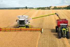 Claas: New 7XL grain auger for CTF compatibility