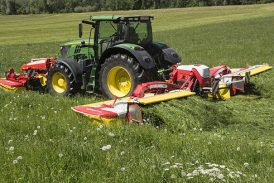 Pöttinger: Novacat A10 is the new standard for mower combinations