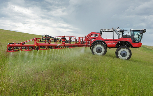 Agrifac: MountainMasterPlus sprays steeper slopes