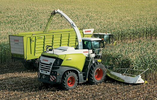 The new Claas Jaguar 980 offers 885hp.
