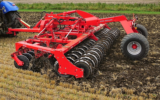 He-Va: New Disc Roller Contour range for precision shallow cultivations