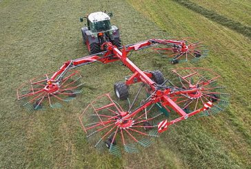 Kverneland: Two new heavy-duty four-rotor rakes for 2017