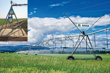 Bauer: Lamma launch for Centerstar automatic pivot system