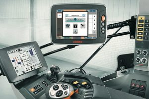 Claas: Full Isobus control with S10 Terminal