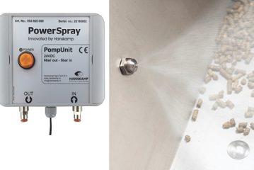 Hanskamp: PowerSpray mist administration system