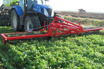 He-Va: New Crimper Roller cuts through cover crops