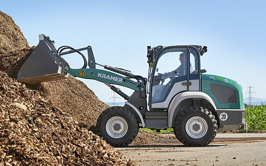 Kramer: KL25.5e electric wheel loader sets new standards