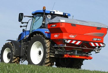 Kuhn: Spreading module delivers infinitely adjustable fertiliser distribution pattern