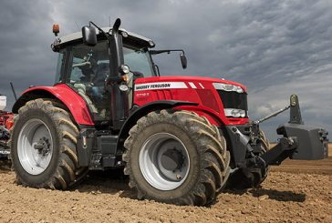 Massey Ferguson: New MF6718S is the world's first 200hp four-cylinder tractor