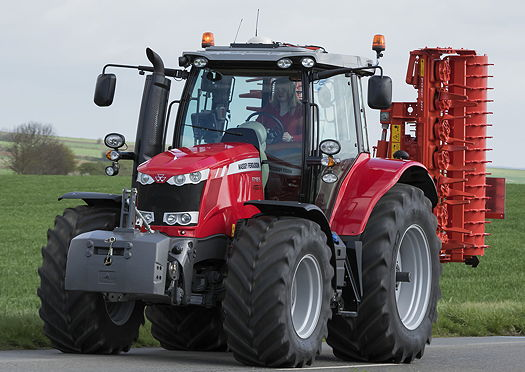 Massey Ferguson: New MF6718S is the world's first 200hp four