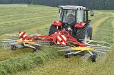 Pöttinger: Unbeatable manoeuvrability from the Top 612 rake
