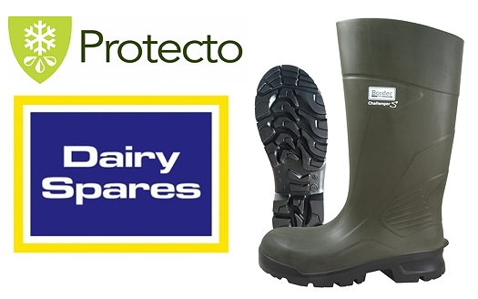 Dairy Spares Lightweight Wellington Boots Offer Warmth